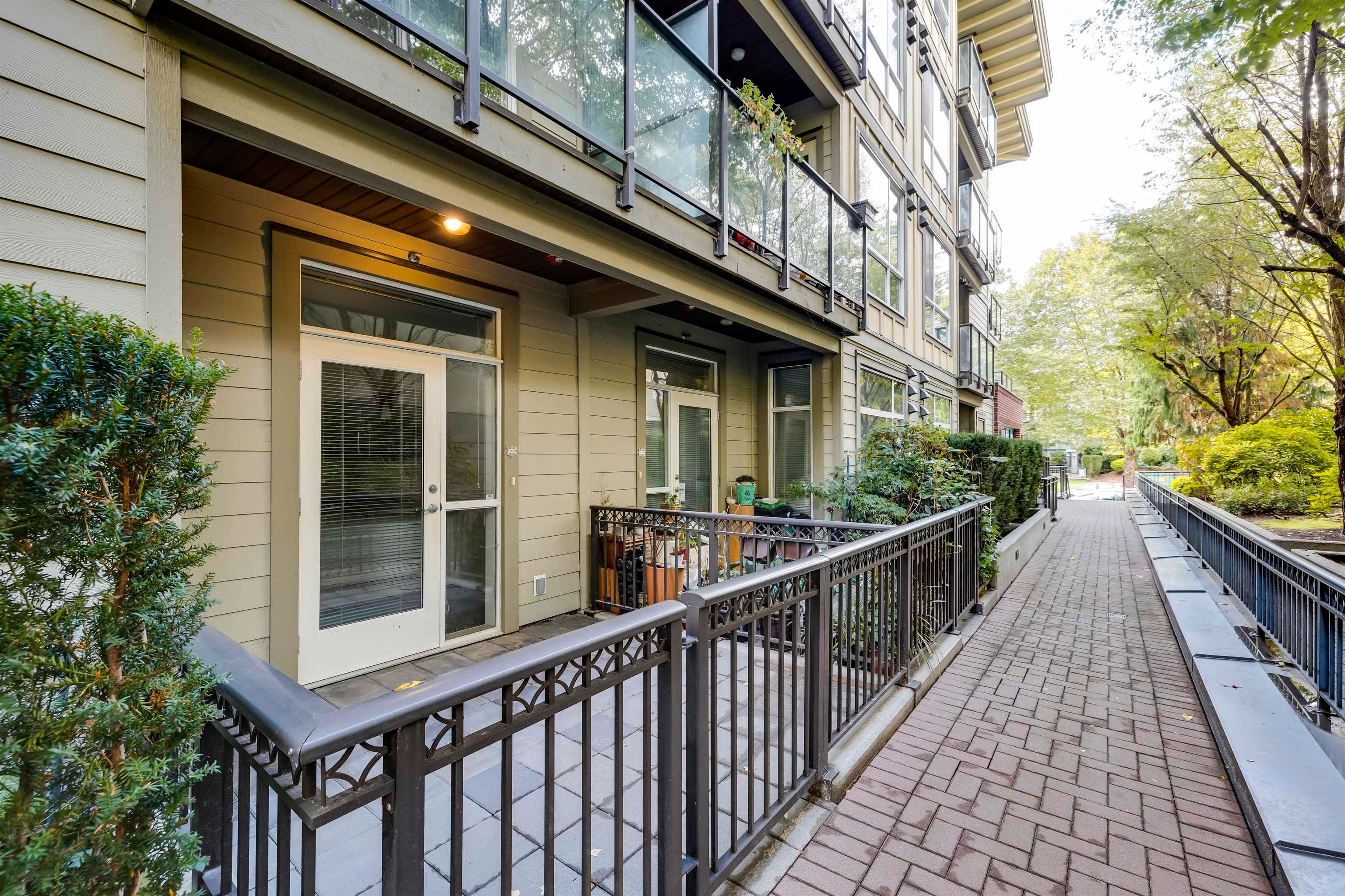 Main Photo: 103 2957 GLEN Drive in Coquitlam: North Coquitlam Townhouse for sale : MLS®# R2622570