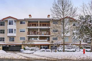 "Photo 1: 107 5776 200 Street in Langley: Langley City Condo for sale in ""The Glenwood"" : MLS®# R2340855"