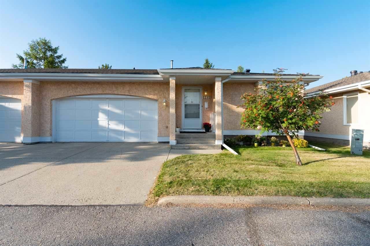 Main Photo: 1232 105 Street in Edmonton: Zone 16 House Half Duplex for sale : MLS®# E4246538