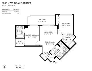 """Photo 21: 1205 789 DRAKE Street in Vancouver: Downtown VW Condo for sale in """"Century House"""" (Vancouver West)  : MLS®# R2579107"""