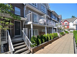 """Main Photo: 612 1661 FRASER Avenue in Port Coquitlam: Glenwood PQ Townhouse for sale in """"BRIMLEY MEWS"""" : MLS®# V1018281"""