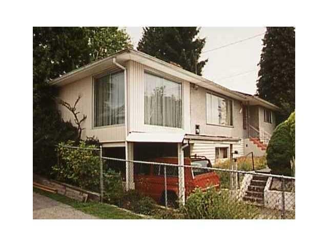 Main Photo: 735 DELESTRE AV in Coquitlam: Coquitlam West House for sale : MLS®# V1089760