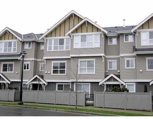 """Main Photo: 14 7833 HEATHER ST in Richmond: McLennan North Townhouse for sale in """"BELMONT"""" : MLS®# V536702"""