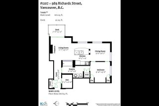 """Photo 17: 1207 989 RICHARDS Street in Vancouver: Downtown VW Condo for sale in """"MONDRIAN I"""" (Vancouver West)  : MLS®# R2373679"""