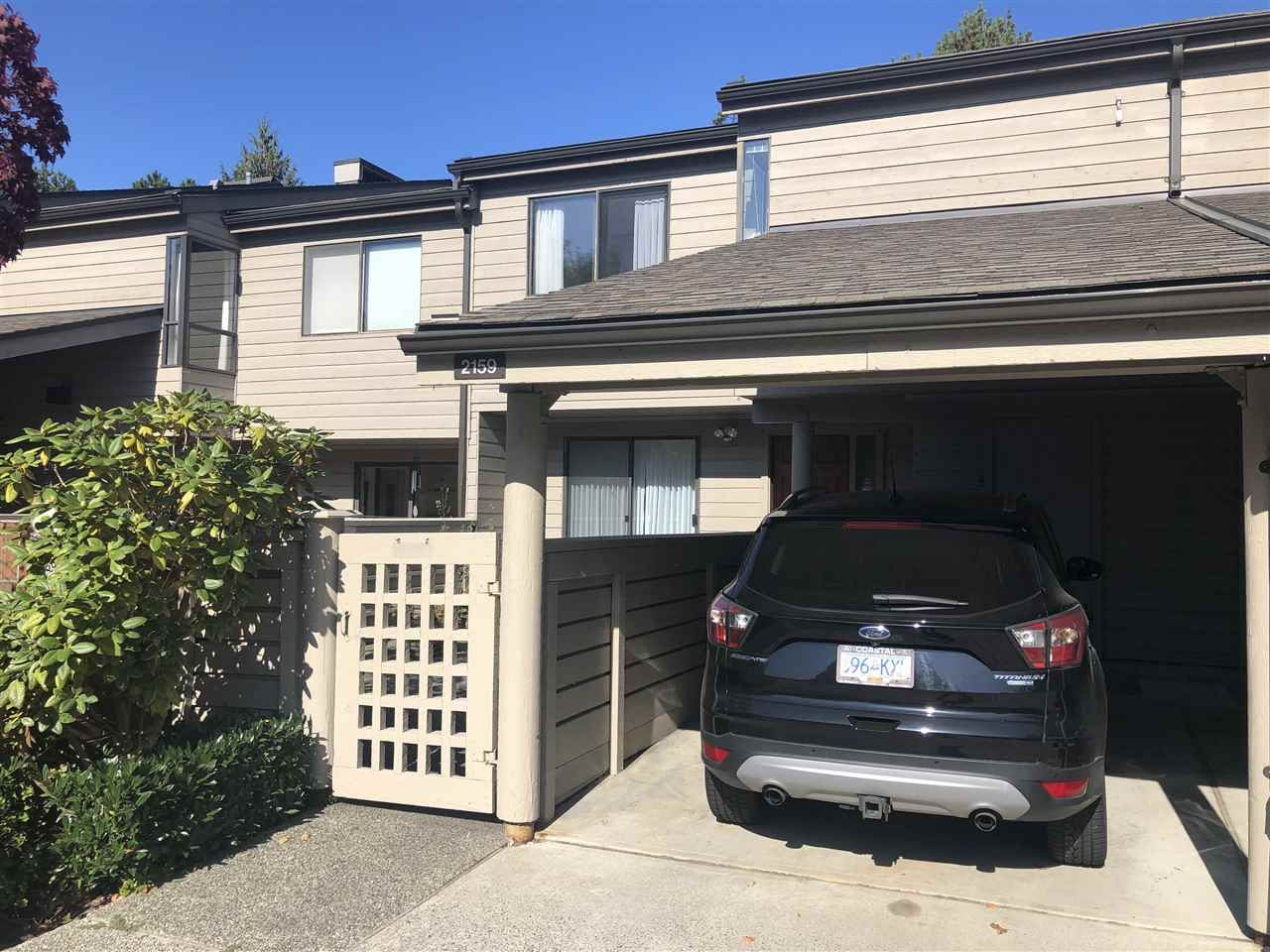 Photo 1: Photos: 2159 MCMULLEN Avenue in Vancouver: Quilchena Townhouse for sale (Vancouver West)  : MLS®# R2455599