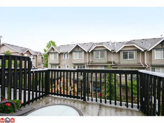 """Photo 9: 4 6747 203RD Street in Langley: Willoughby Heights Townhouse for sale in """"SAGEBROOK"""" : MLS®# F1013962"""