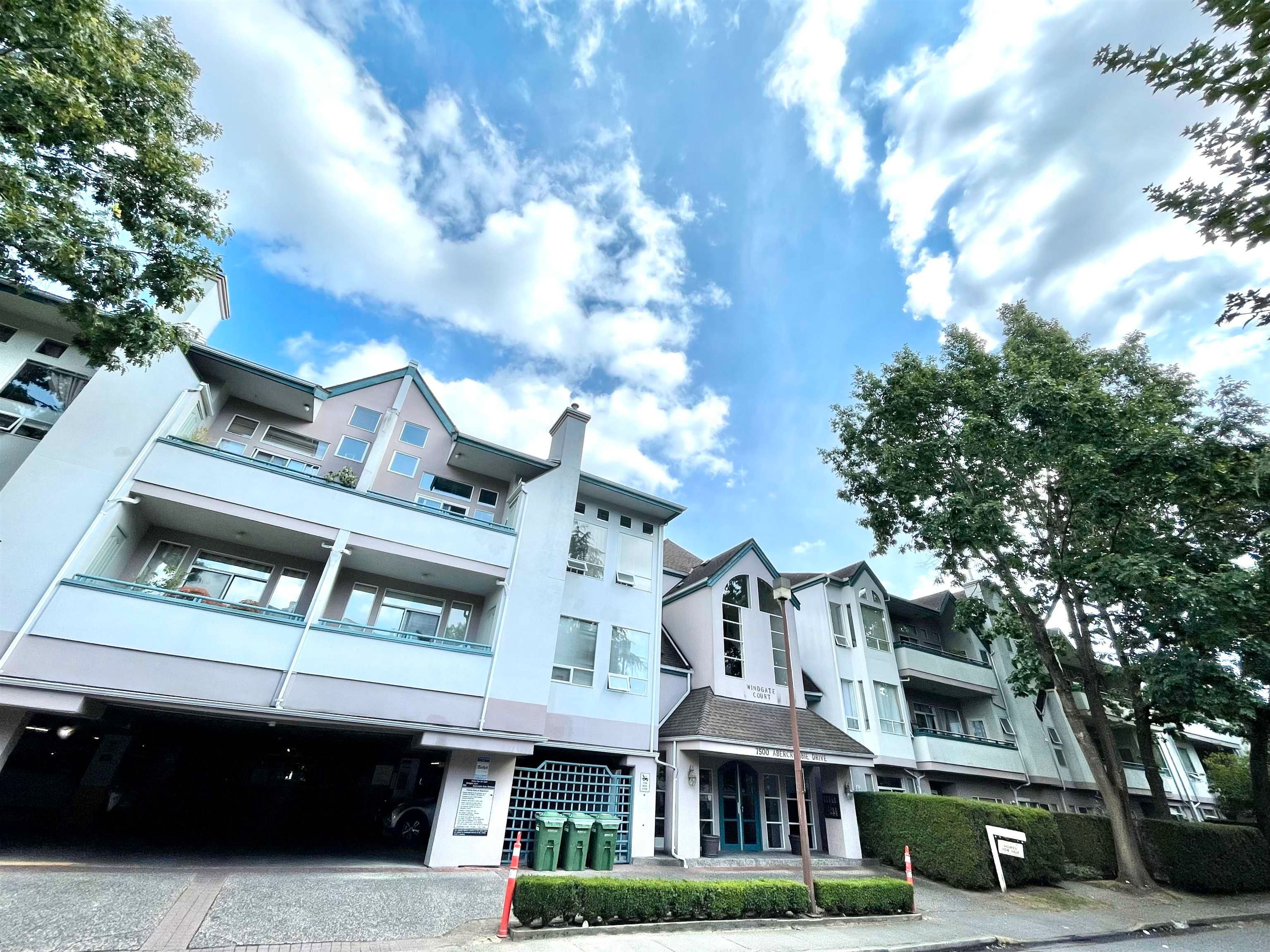 Main Photo: 316 7500 ABERCROMBIE Drive in Richmond: Brighouse South Condo for sale : MLS®# R2617754