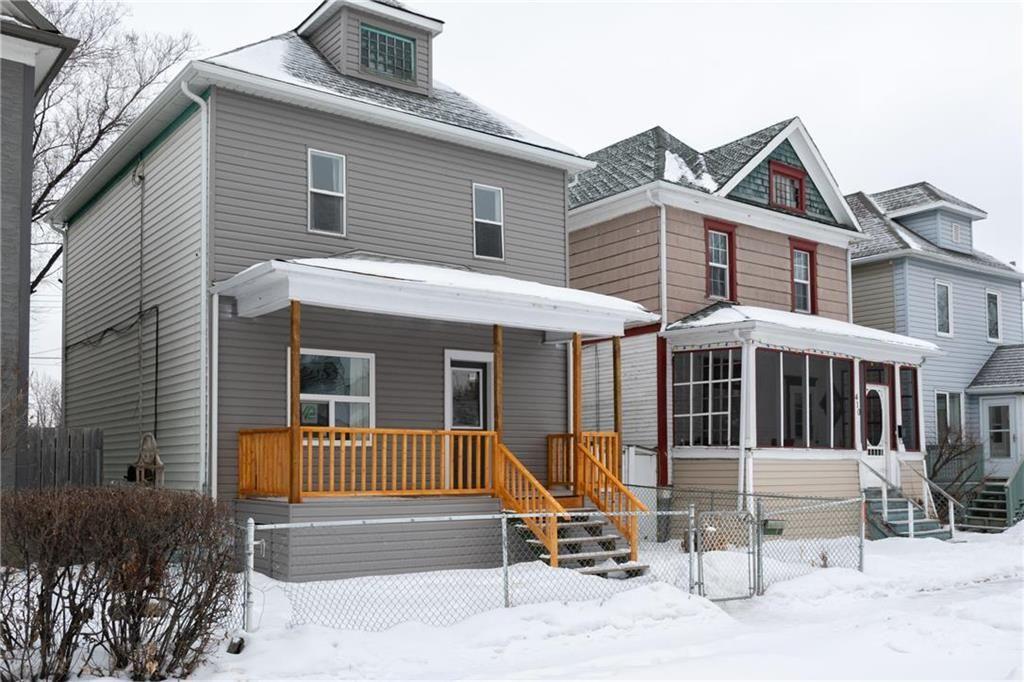 Main Photo: 408 Andrews Street in Winnipeg: Sinclair Park Residential for sale (4C)  : MLS®# 202102092