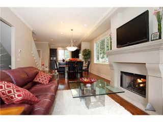 """Photo 7: 632 2580 LANGDON Street in Abbotsford: Abbotsford West Townhouse for sale in """"The Brownstones on the Park"""" : MLS®# F1424692"""