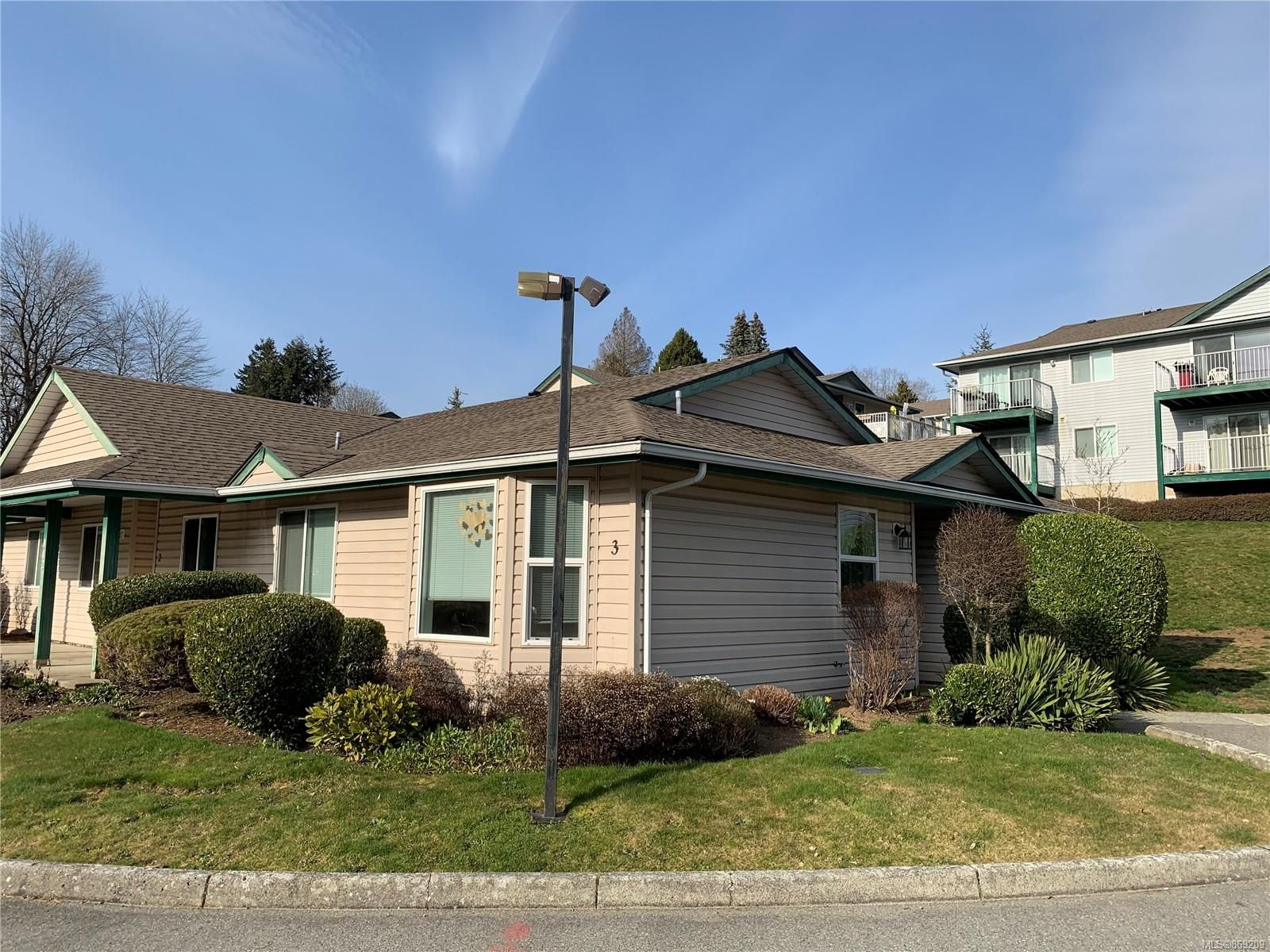 Main Photo: 3 442 Gail Pl in : Na South Nanaimo Row/Townhouse for sale (Nanaimo)  : MLS®# 869209