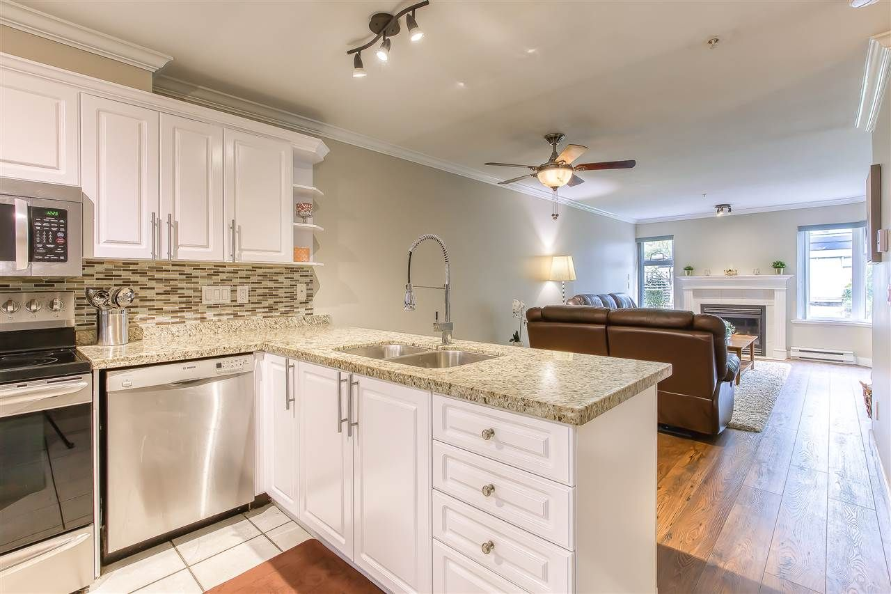 """Main Photo: 113 1999 SUFFOLK Avenue in Port Coquitlam: Glenwood PQ Condo for sale in """"KEY WEST"""" : MLS®# R2493657"""
