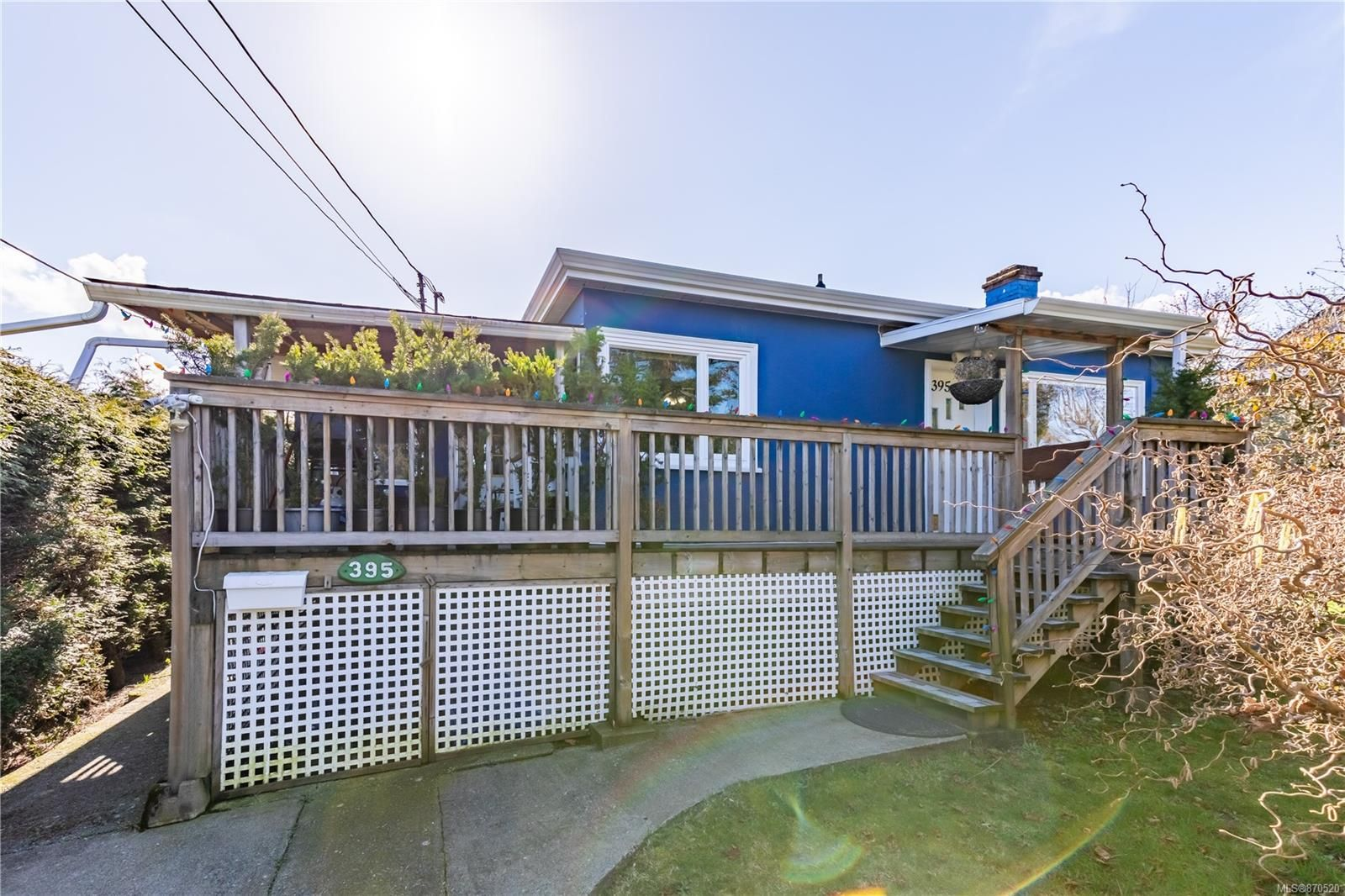 Main Photo: 395 Chestnut St in : Na Brechin Hill House for sale (Nanaimo)  : MLS®# 870520