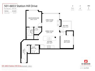 """Photo 21: 501 6833 STATION HILL Drive in Burnaby: South Slope Condo for sale in """"VILLA JARDIN"""" (Burnaby South)  : MLS®# R2544706"""