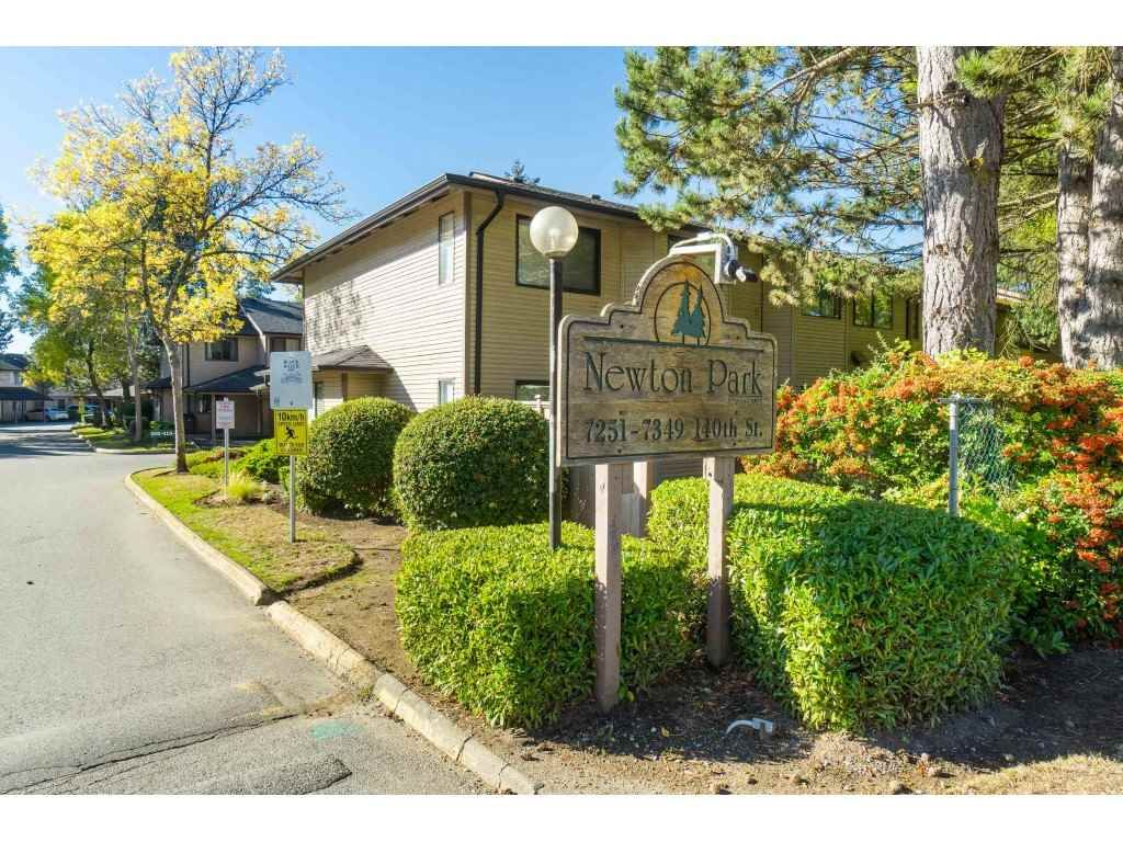 "Main Photo: 159 7269 140 Street in Surrey: East Newton Townhouse for sale in ""Newton Park"" : MLS®# R2504243"