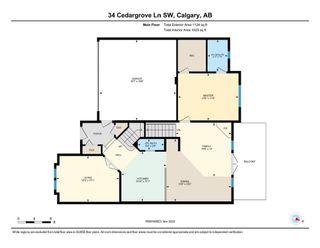 Photo 36: 34 Cedargrove Lane SW in Calgary: Cedarbrae Semi Detached for sale : MLS®# A1051957