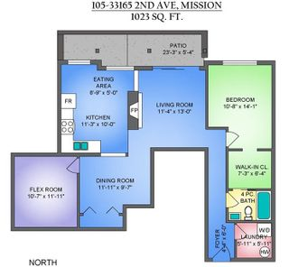 """Photo 2: 105 33165 2ND Avenue in Mission: Mission BC Condo for sale in """"Mission Manor"""" : MLS®# R2575183"""