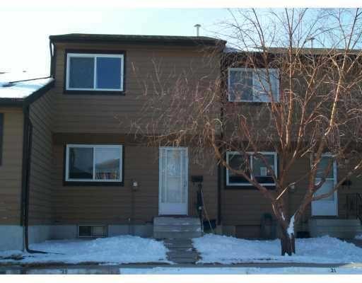 Main Photo:  in CALGARY: Marlborough Park Townhouse for sale (Calgary)  : MLS®# C3116322