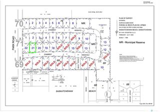 Main Photo: 104 Chamray Heights in Saskatchewan Beach: Lot/Land for sale : MLS®# SK849761