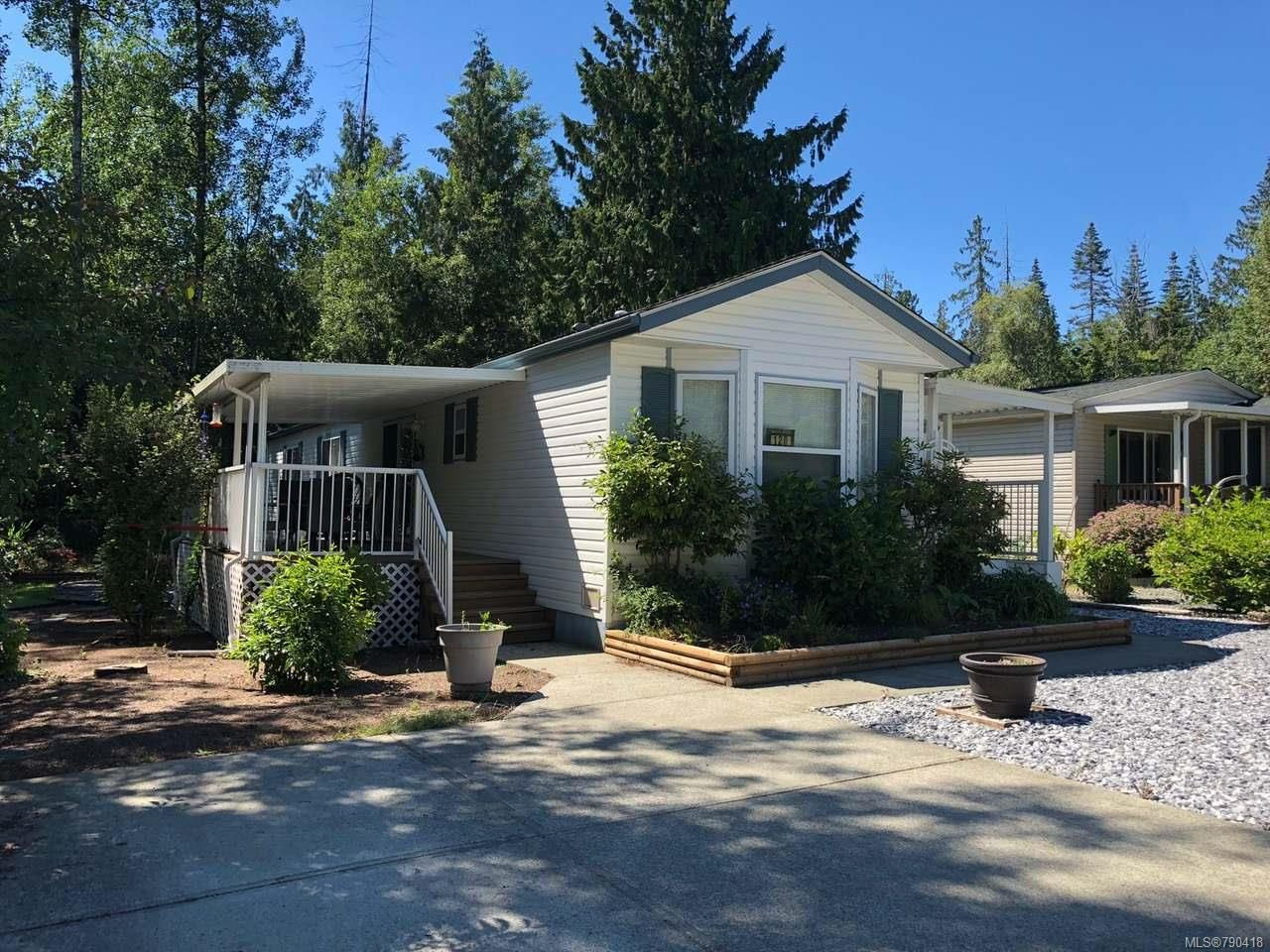 Main Photo: 120 1391 PRICE ROAD in ERRINGTON: PQ Errington/Coombs/Hilliers Manufactured Home for sale (Parksville/Qualicum)  : MLS®# 790418