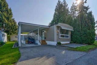 """Photo 1: 182 7790 KING GEORGE Boulevard in Surrey: East Newton Manufactured Home for sale in """"CRISPEN BAYS"""" : MLS®# R2616846"""