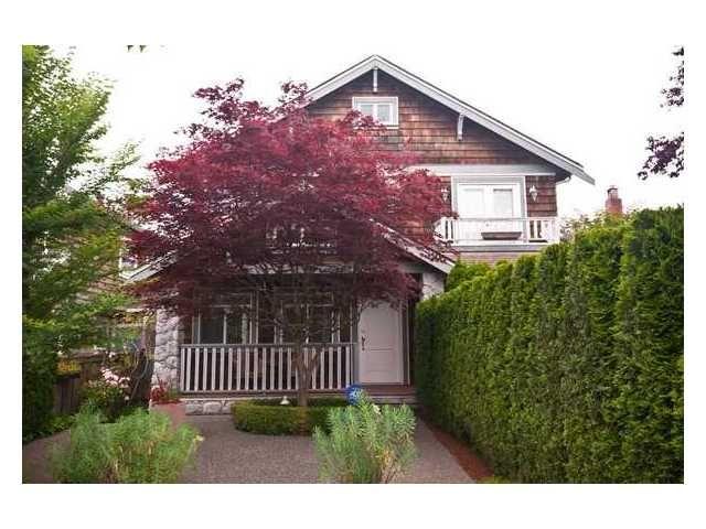 Main Photo: 2961 W 5th Avenue in Vancouver: Kitsilano 1/2 Duplex for sale (Vancouver West)  : MLS®# V920656