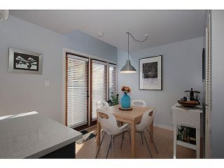 """Photo 8: 3 503 E PENDER Street in Vancouver: Mount Pleasant VE Townhouse for sale in """"Jackson Gardens"""" (Vancouver East)  : MLS®# V1035790"""