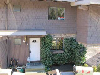 Photo 1: 317B EVERGREEN Drive in Port Moody: College Park PM Townhouse for sale : MLS®# V871059