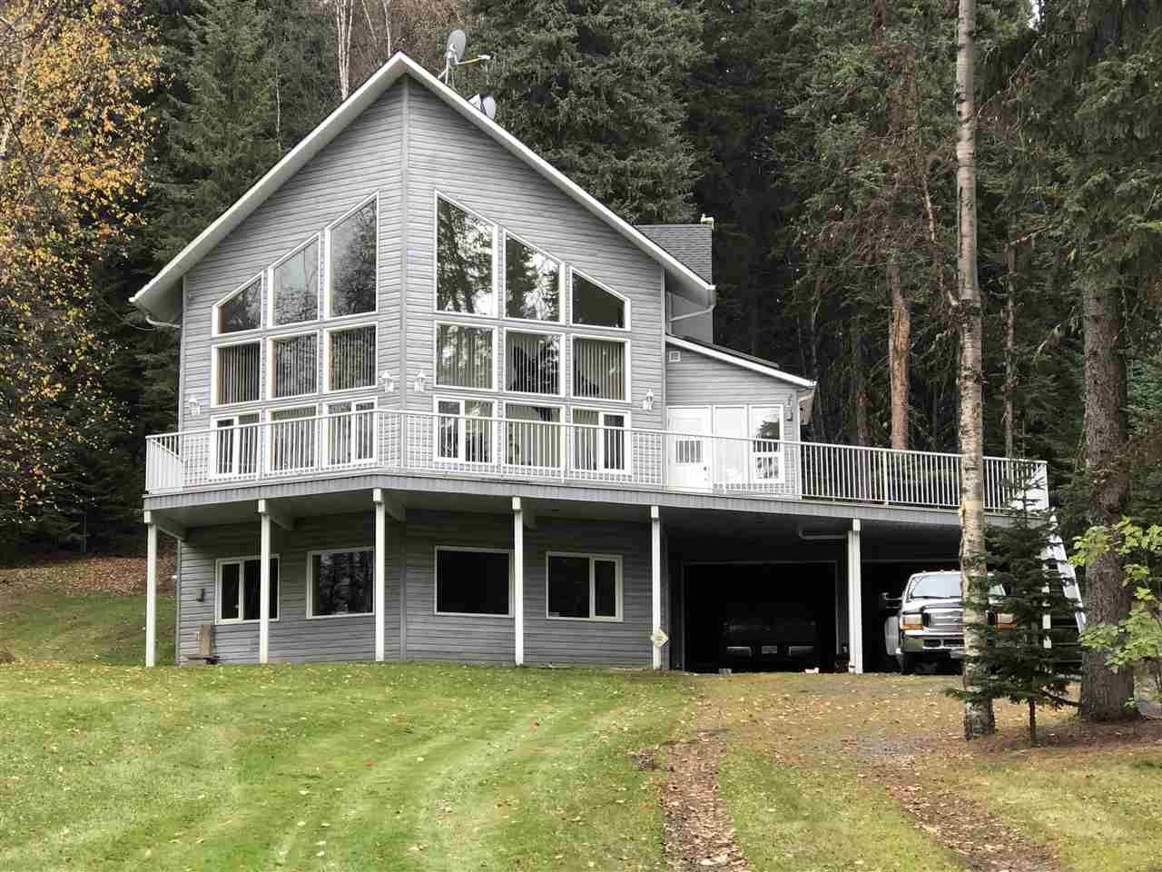 "Main Photo: 23830 WEST LAKE Road in Prince George: Blackwater House for sale in ""West Lake Road"" (PG Rural West (Zone 77))  : MLS®# R2416895"