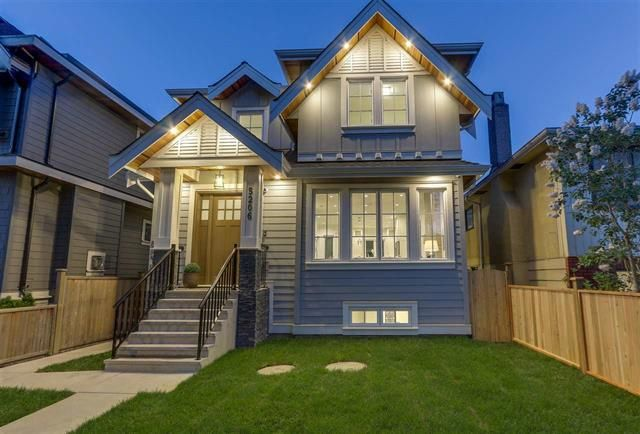 Main Photo: 5204 Chester Street in Vancouver: Fraser VE House for sale (Vancouver East)  : MLS®# R2444756