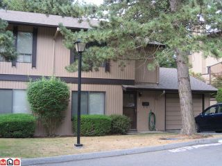 """Photo 1: 26 3015 TRETHEWEY Street in Abbotsford: Abbotsford West Townhouse for sale in """"BIRCH GROVE TERRACE"""" : MLS®# F1022443"""