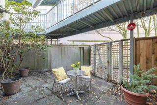 "Photo 16: 108 2020 W 8TH Avenue in Vancouver: Kitsilano Condo for sale in ""AUGUSTINE GARDENS"" (Vancouver West)  : MLS®# R2323601"