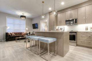 Photo 1: 417 383 Smith Street NW in Calgary: University District Apartment for sale : MLS®# A1145534