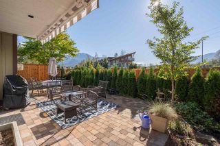 "Photo 28: 33 40750 TANTALUS Road in Squamish: Garibaldi Estates Townhouse for sale in ""Meighan Creek"" : MLS®# R2507590"