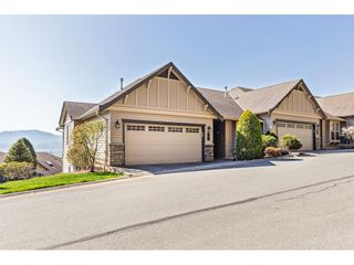 """Photo 1: 34 2842 WHATCOM Road in Abbotsford: Abbotsford East Townhouse for sale in """"Forest Ridge"""" : MLS®# R2450038"""