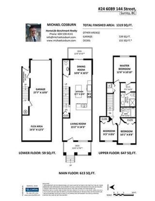 "Photo 20: 24 6089 144 Street in Surrey: Sullivan Station Townhouse for sale in ""Blackberry Walk 2"" : MLS®# R2442122"