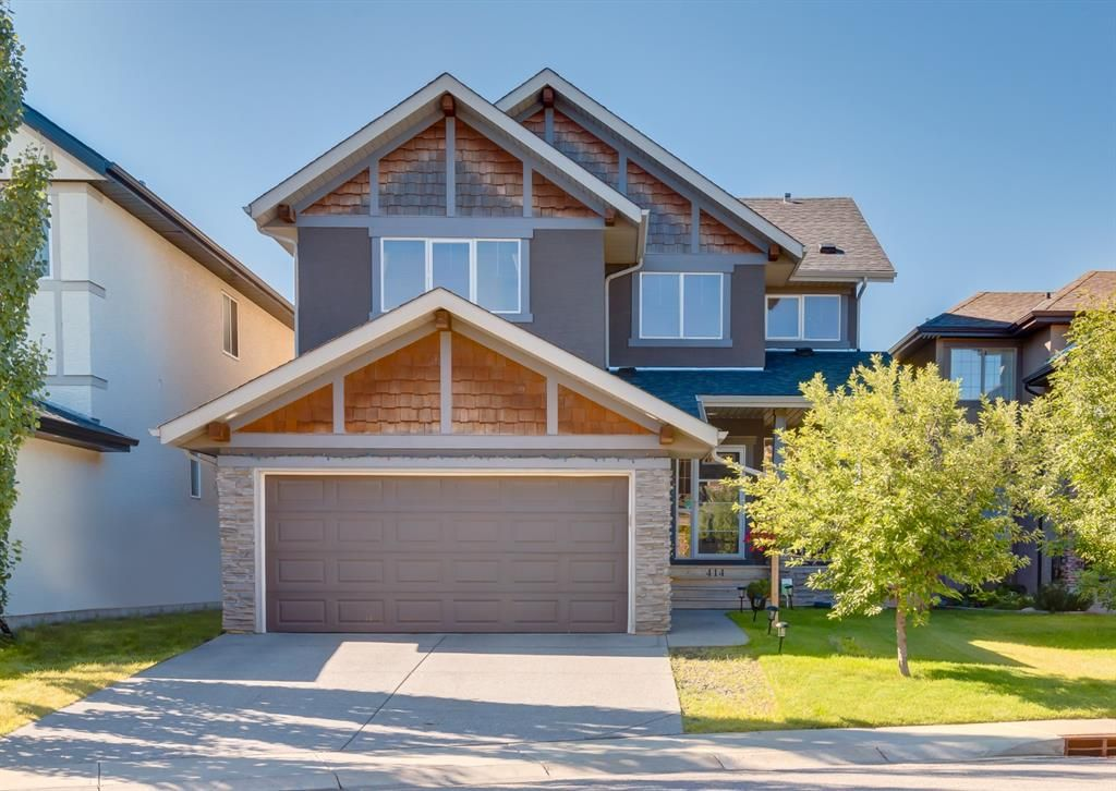 Main Photo: 414 Tuscany Ravine Road NW in Calgary: Tuscany Detached for sale : MLS®# A1146365
