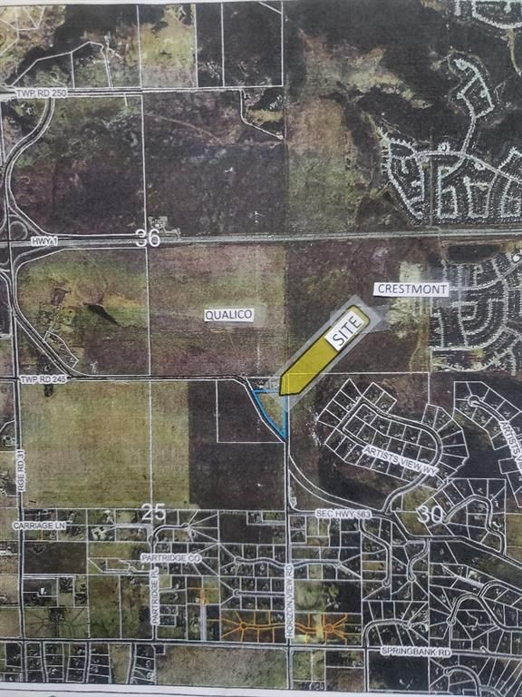 Main Photo: 244230 noneOld Banff Coach Road in Rural Rocky View County: Rural Rocky View MD Residential Land for sale : MLS®# A1103350
