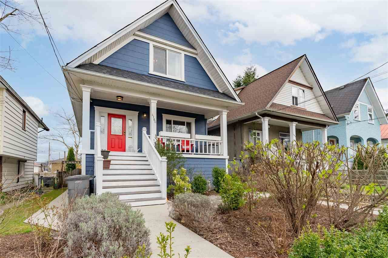 Main Photo: 4160 PRINCE ALBERT Street in Vancouver: Fraser VE House for sale (Vancouver East)  : MLS®# R2582312