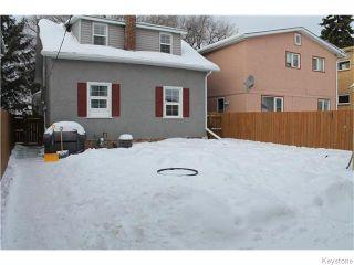 Photo 18: 460 De La Morenie Street in WINNIPEG: St Boniface Residential for sale (South East Winnipeg)  : MLS®# 1603203