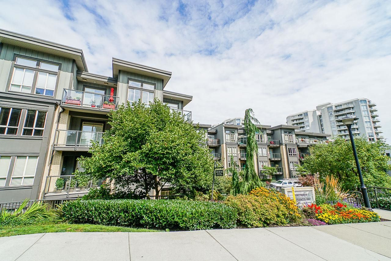 """Main Photo: 315 225 FRANCIS Way in New Westminster: Fraserview NW Condo for sale in """"THE WHITTAKER"""" : MLS®# R2617149"""