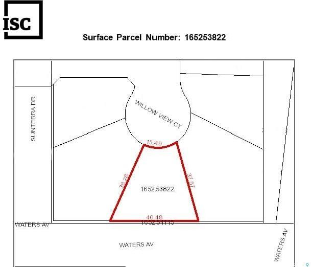 Main Photo: 3 Willow View Court in Blackstrap Shields: Lot/Land for sale : MLS®# SK845966