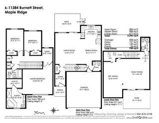 """Photo 2: 6 11384 BURNETT Street in Maple Ridge: East Central Townhouse for sale in """"MAPLE CREEK LIVING"""" : MLS®# R2414038"""