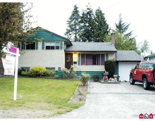 Main Photo: 13072 107TH AVENUE in : Whalley House for sale : MLS®# F2711571