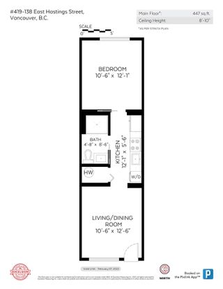 """Photo 20: 419 138 E HASTINGS Street in Vancouver: Downtown VE Condo for sale in """"Sequel 138"""" (Vancouver East)  : MLS®# R2591060"""