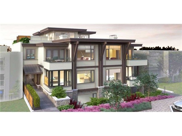 Main Photo: # 203 2436 HAYWOOD AV in West Vancouver: Dundarave Condo for sale