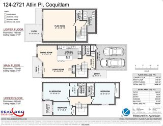 """Photo 27: 124 2721 ATLIN Place in Coquitlam: Coquitlam East Townhouse for sale in """"THE TERRACES"""" : MLS®# R2569450"""