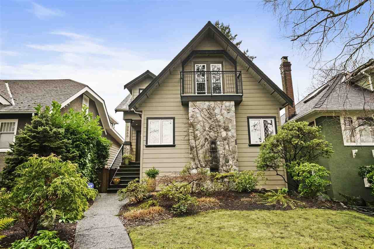 Main Photo: 2930 W 28TH AVENUE in Vancouver: MacKenzie Heights House for sale (Vancouver West)  : MLS®# R2534958