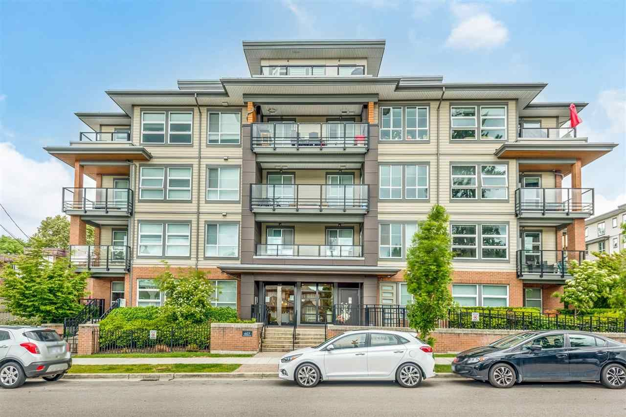 """Main Photo: 209 607 COTTONWOOD Avenue in Coquitlam: Coquitlam West Condo for sale in """"Stanton House by Polygon"""" : MLS®# R2589978"""