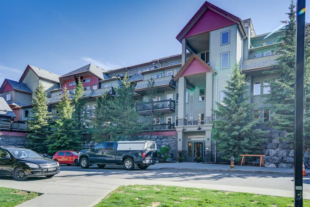Main Photo: 218 109 Montane Road: Canmore Apartment for sale : MLS®# A1122463