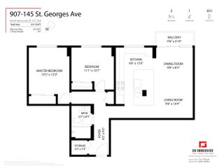 """Photo 22: 907 145 ST. GEORGES Avenue in North Vancouver: Lower Lonsdale Condo for sale in """"Talisman Tower"""" : MLS®# R2609306"""